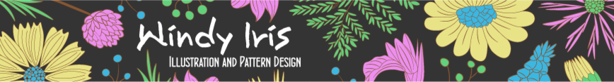 Windy_iris_new_banner_-_black_spoonflower_preview