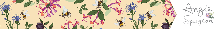 Honeysuckle_and_bees_spoonflower_header_preview
