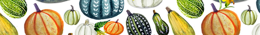 Autum-botanical-painted-pumpkins-and-gourd-fall-and-autumn-fabric-and-wallpaper_preview